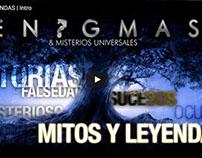 Intro para canal de Youtube. Tema: Mitos y Leyendas