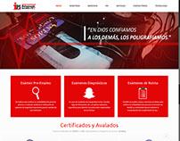 IPS Site Corporativo , Servicios de Poligrafia