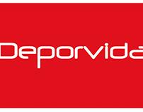 Deporvida - Diseño Institucional y Editorial