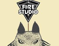 Fire Studio Store - Stickers