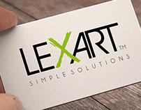 Lexart Imágen Corporativa, Branding, Layout web