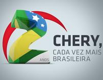 Chery Motors - Campanha de 2 anos no Brasil