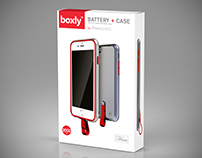 Boxly iPhone case packaging