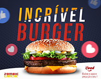 ZOMBIE LANCHE - INCRIVEL BURGER