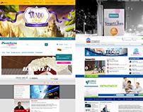 Algunos de mis proyectos como Desarrollador Web