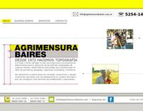 Web Agrimensura Baires