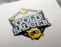Gold Saucer Bar - Brand Design