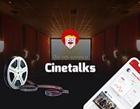 Cinetalks - App para cinéfilos