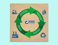Facebook e banner site - Mar Reciclagem