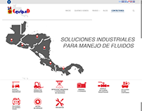 EQUIPSA Website Design
