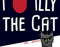 Poster - Illy the Cat