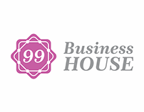 Logo para coworking - 99 Business House