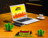 Action Tours Aruba Website