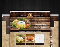 California Steakhouse | Website Responsivo