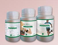 Etiquetas para Le nove - Suplementos dietarios