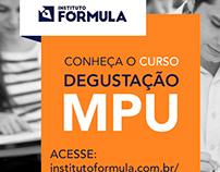 Peças para o Instagram do Instituto Fórmula