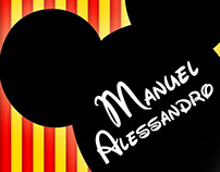 Invitación Cumpleaños #2 Manuel Alessandro