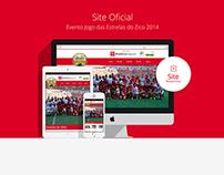 Site e Fanpage Oficial para Jogo das Estrelas do Zico