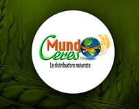 Refrescamiento Logo corporativo Mundo ceres