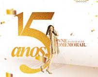 Aniversário de 15 anos da loja Enne Palladium