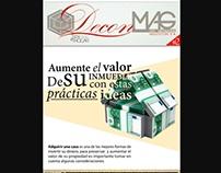 N2 DECON MAG revista digital de suscripcion DECORACION