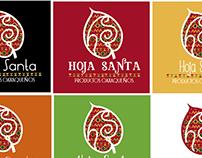 Hoja Santa (Imagen, logo y etiquetas)
