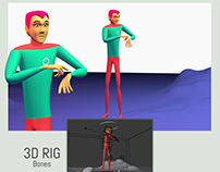 3D Motion characters