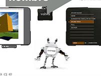 Minimage animación 3d interactiva