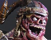 Mascarada zombie