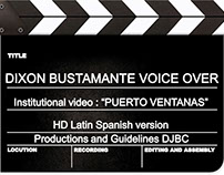 Corporate voice, video Institutional Puerto Ventanas