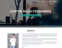 Página web personal