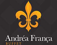 Andréa França Buffet - Logo design