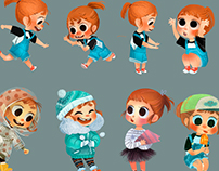 Coco&Cookie character design