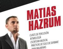 Matias Hazrum Posters