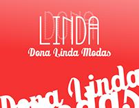 Logo Loja de Vestuário Dona Linda Modas