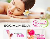 Social Media- Cuidarte Spa