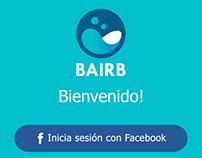 DISEÑO DE INTERFAZ DE USUARIO APP BAIRB