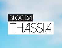Blog da Thássia - Mobile UI