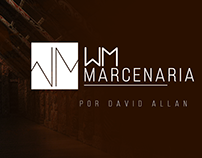 WM Marcenaria Logo - David Allan