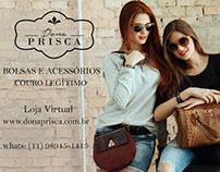Editorial Dona Prisca fotografia e edição
