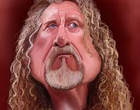 Caricature Robert Plant