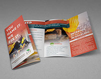 ETS - Maintenance Division - Trifold Brochure Design