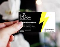 Desenvolvimento da logo e cartão de visita