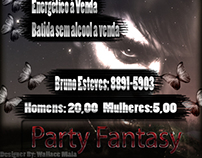 Flyer para Festa: Party Fantasy