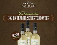 Gráficas promocionales - KAIKEN WINES