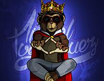 Rey de los simios - Ilustración digital