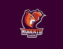 Rodents Gaming, mascot Logo
