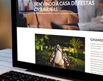 Site Casa de Festas Casuarinas