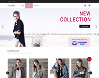 Website - Trenddy / Fashion Clothes