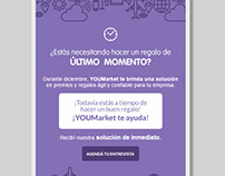 YOUMarket - Newsletter Graphic & Digital Design